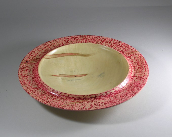 Shallow boxelder bowl