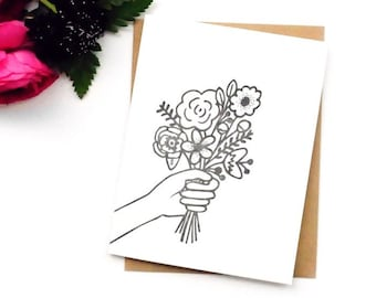 I Got You Flowers Card for Every Occasion Card
