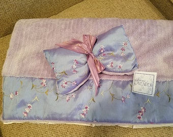 Lavender heat pad and eye mask