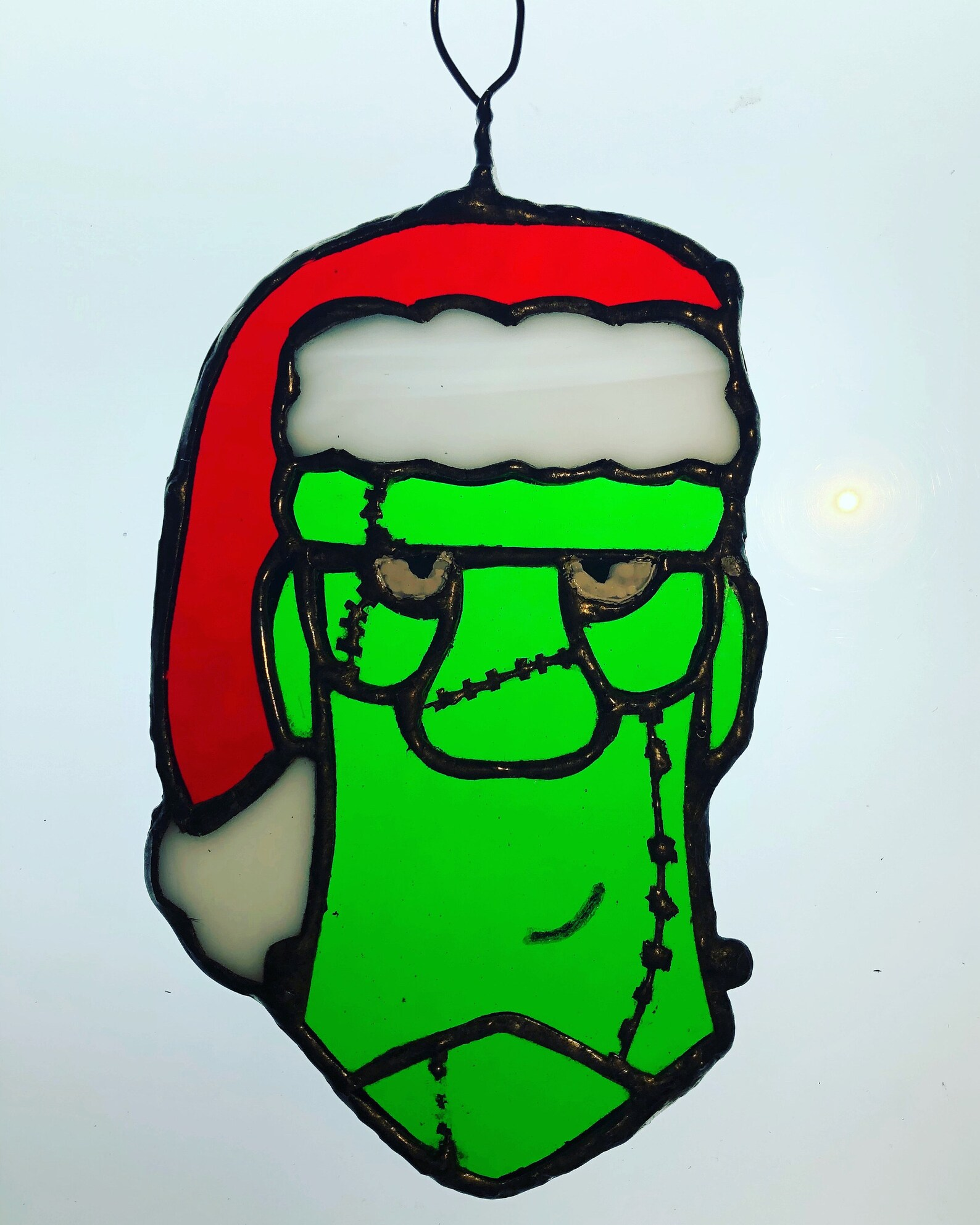 Frankenstein Stained Glass Suncatchers