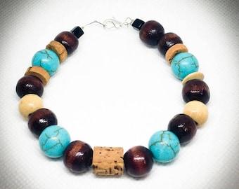 Colorful bead bracelets