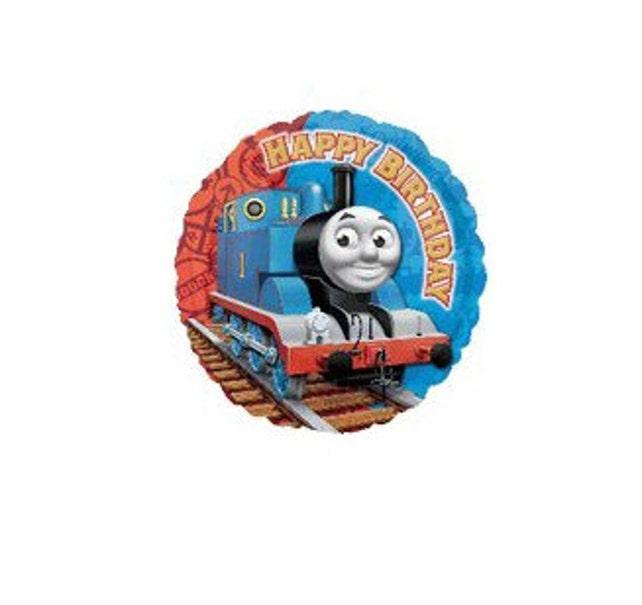 "Thomas the Train 18"" Mylar Balloon - Happy Birthday - Licensed Kids Party"