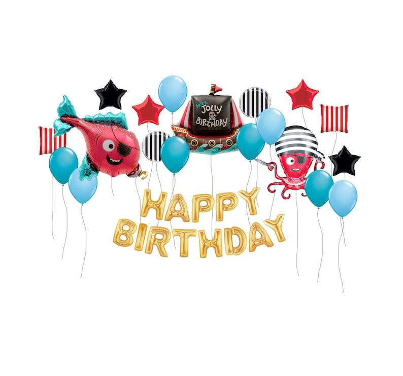 Pirate Party Balloons Pirates Boys Birthday Kids