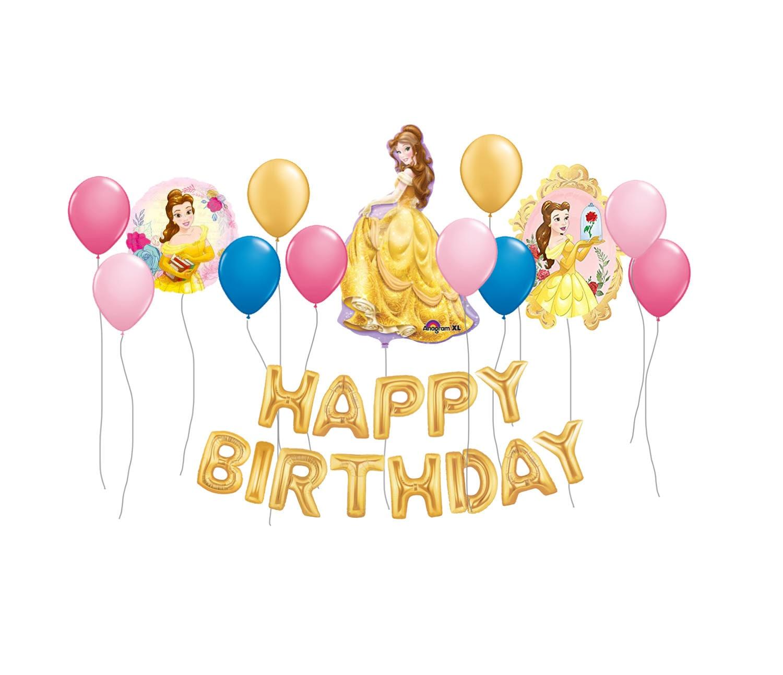 Beauty and the Beast Balloon Belle Balloon Party Kit Disney | Etsy
