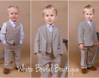 Ring Bearer Outfit Etsy