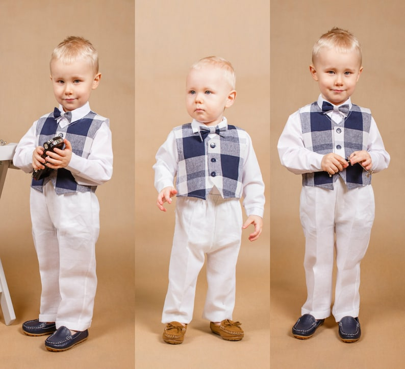 de7eef4f61e Wedding boy outfit Baby boy outfit Ring bearer outfit Boy