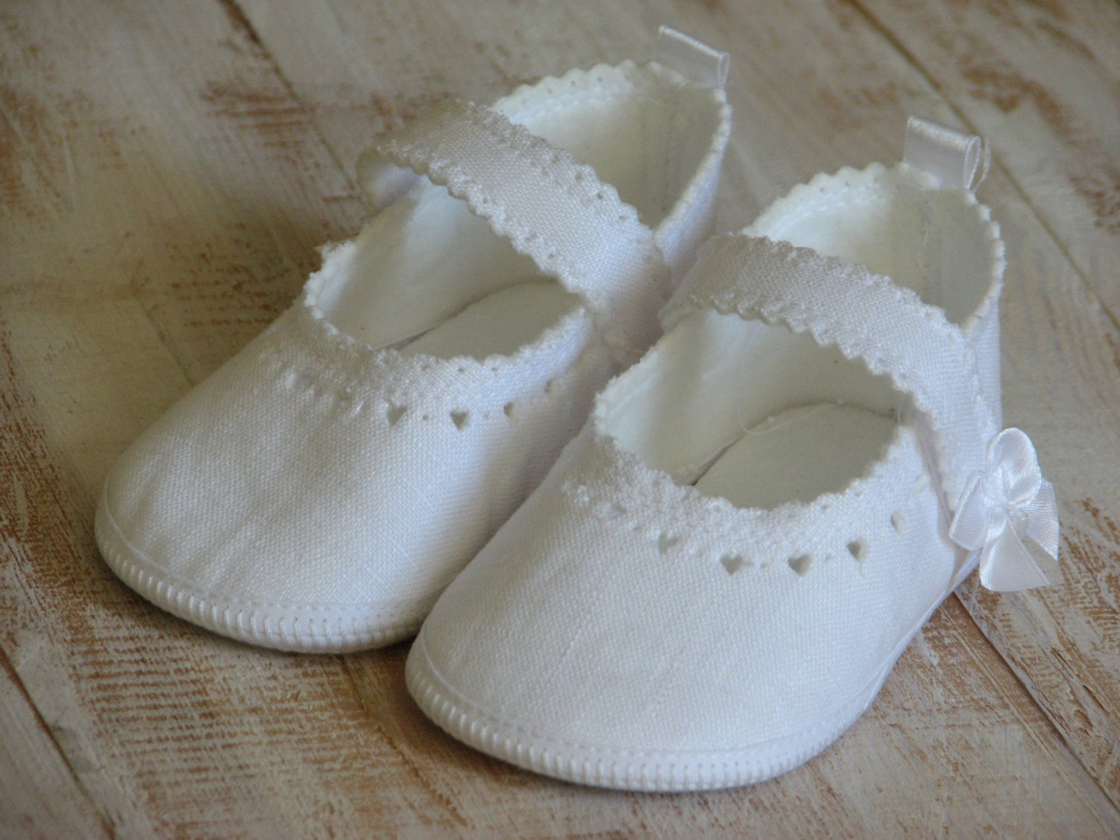 newborn baby shoes baby ballet slippers baptism shoes white baby shoes handmade baby shoes linen baby shoes newborn shoes christ
