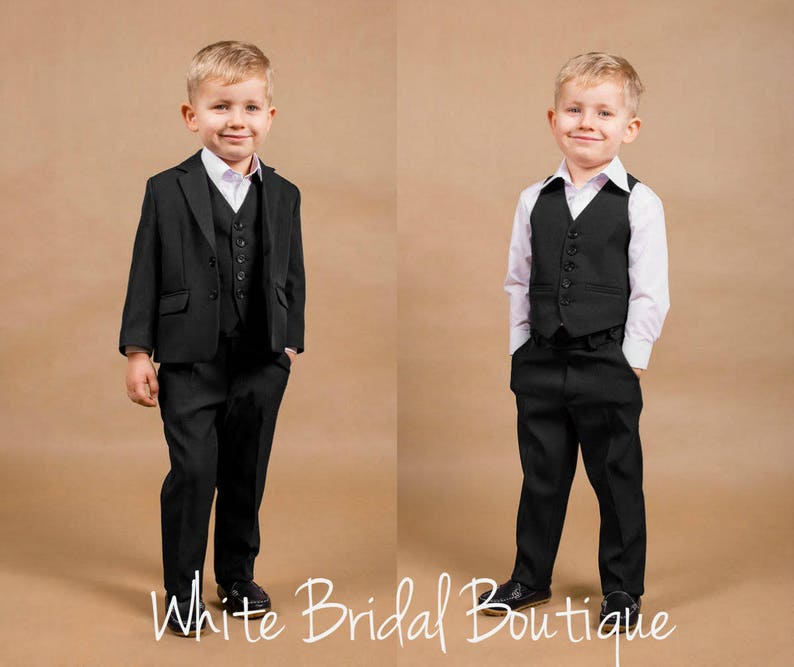 a4ede4171294 Wedding suit Ring bearer outfit Wedding boy suit Navy wedding