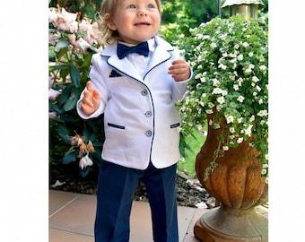 5 pcs. suit, Christening suit, Baptism suit, Baby boy outfit, Baby Christening outfit, Baptism outfit, Baby shower suit, Blessing outfit