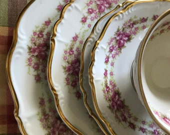 8b4b972564258 Grace 69 pieces Dresden Rose Grace china