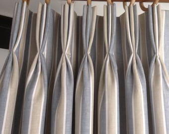 Pinch Pleated Draperies Curtains Panels Pleats Window