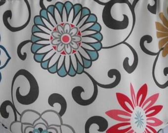 Fabric shower curtain, bath tub curtain, bathroom curtain, custom shower curtain, bathroom decor