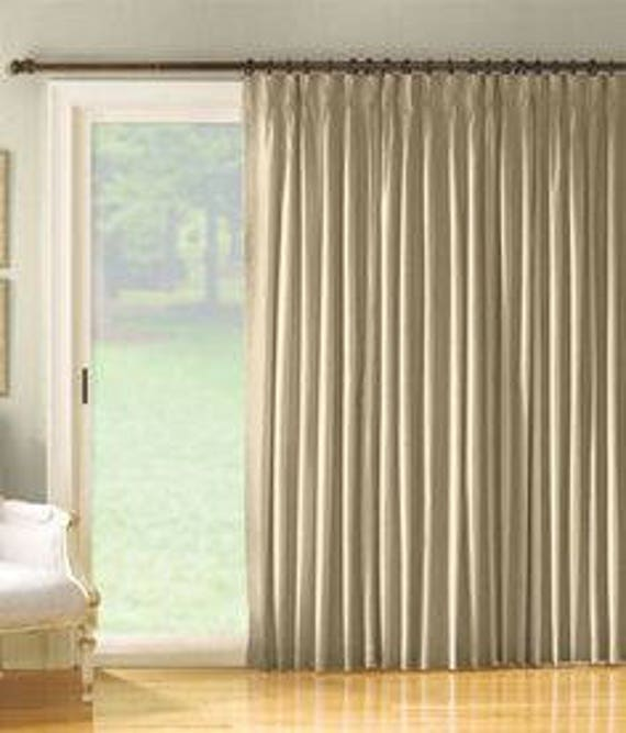 Sliding Glass Door Curtains Patio Door Curtains Sliding Door Etsy