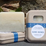 Sand Dunes - Teachers End Of Year Gift - Exfoliating Soap - NJ Soap - Large Bar Soap - Nautical Soap - Beach - Cold Process
