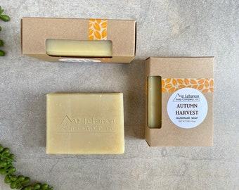 Autumn Harvest Soap - Autumn Gifts - Thanksgiving Soap