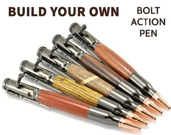Bolt Action Pen | Gun Gifts for Him | Wood Gun Pen | Gun Gifts | Cool Bullet Pens | Engraved Gun Pen | Engraved Bullet Pens