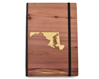 "Wood State Notebook | 5"" x 8"" Gifts of Wood  