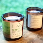 Guide No. 1 Forest   Eco Friendly Candle   Natural Soy Candle (8 oz Reuseable Jar)