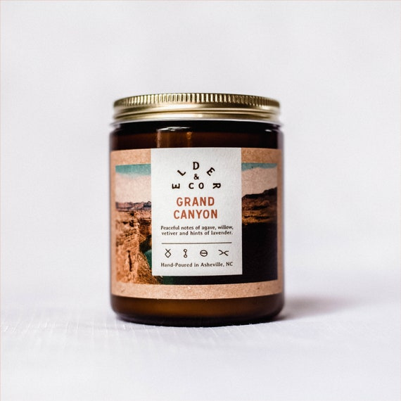 Grand Canyon Cabin Candle  Public Lands  Natural Soy Candle