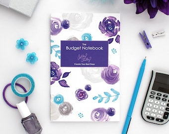 Ashley Shelly Budget Notebook: Painted Floral