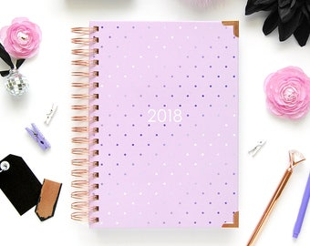 The 2018 Ashley Shelly Planner: Blush Glam (Jan-Dec)