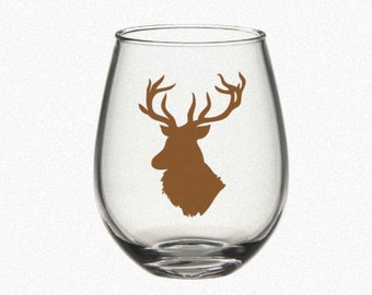 Big Buck DIY Vinyl Decals High Quality Vinyl Decal for DIY Projects Glass NOT included