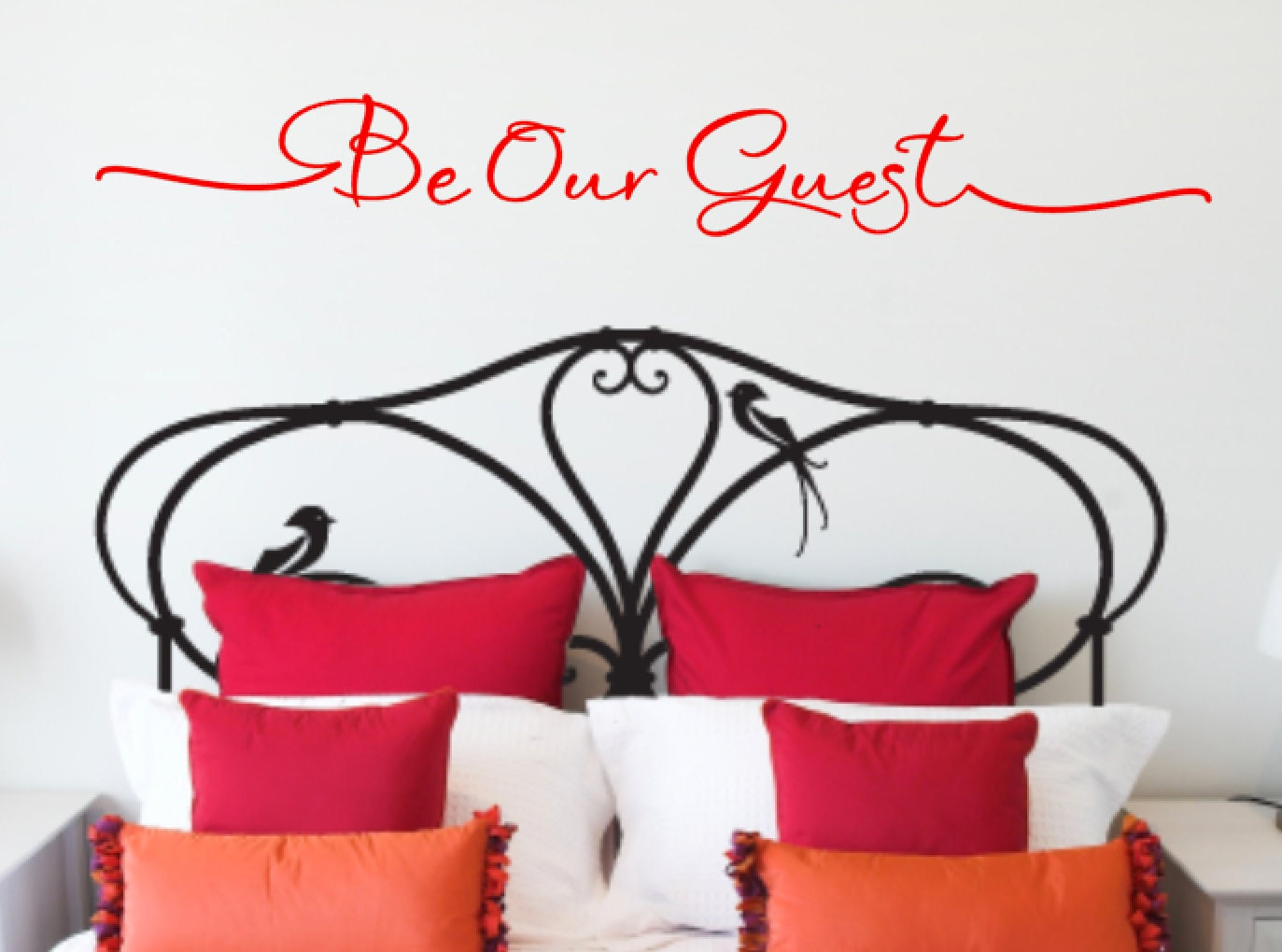 Be Our Guest Guest Bedroom Vinyl Wall Quote Home Decor