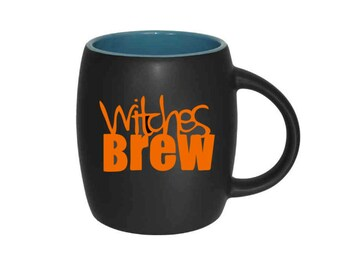 DIY Decal - Witches Brew Halloween Decal, 3 inch Vinyl Decals - Mugs/Wine Glass NOT included