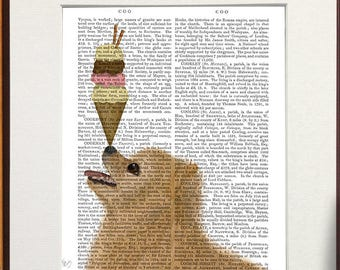 Cute pomeranian -  Pomeranian Ice cream dog - Pom print Pomeranian dog gift Pomeranian art Pom dog print Dog painting Dog home decor Dog art
