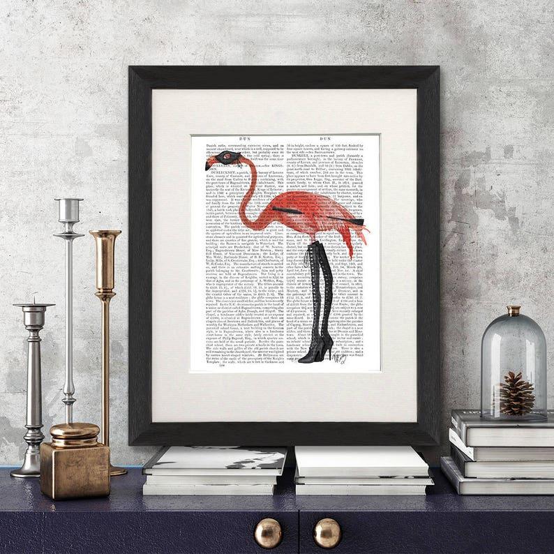 Flamingo Fantasy Art