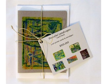 Peaceful Landscapes 5 Card Pack
