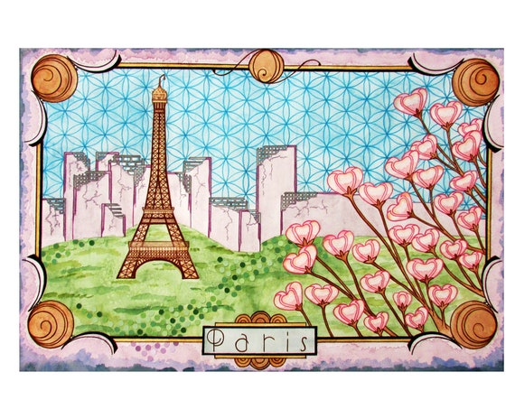 Postcards from the Future: Paris *PRINT*