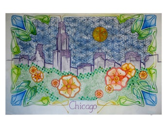 Postcards from the Future: Chicago *PRINT*