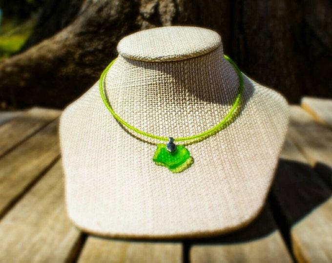 SALE! 20% off! Sea glass pendant necklace