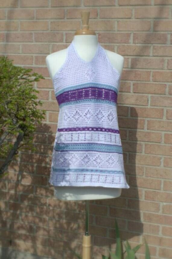 SALE! 20% off! Crochet halter top