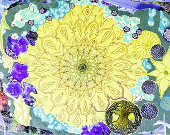 """High Quality Print of """"Mandala for a New Age"""""""