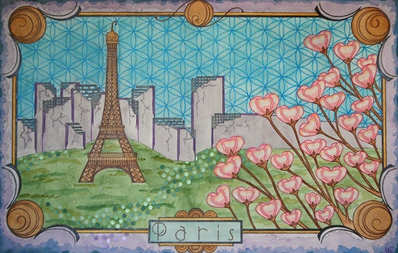 Postcards from the future: Paris
