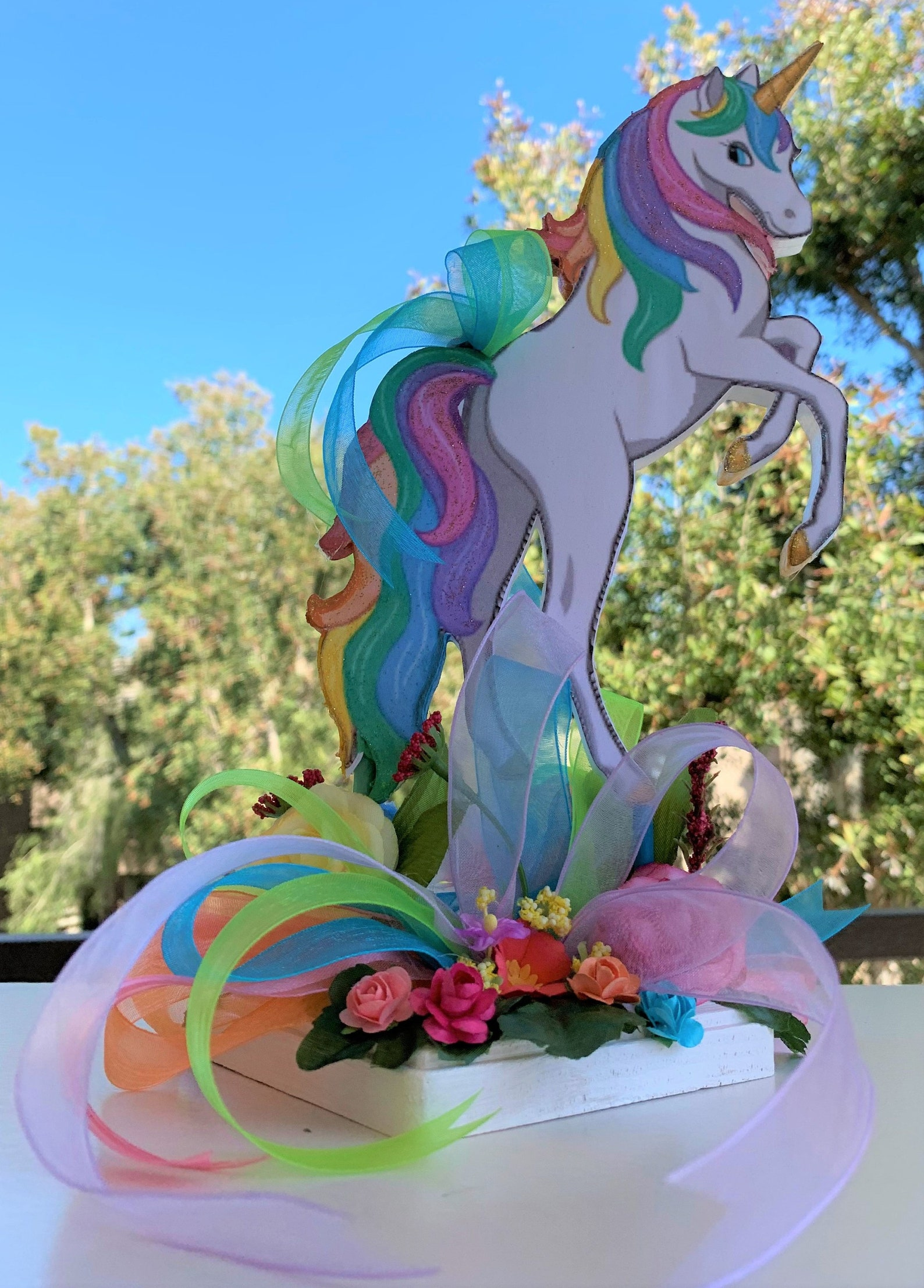 Unicorn Centerpieces Page Two