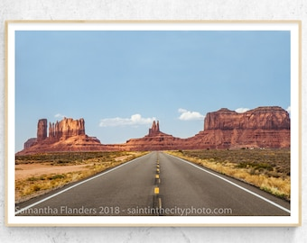 Monument Valley,  Forrest Gump, Wanderlust Photography, Desert Landscape, Travel Photography, Open Road Photography, Southwestern Decor