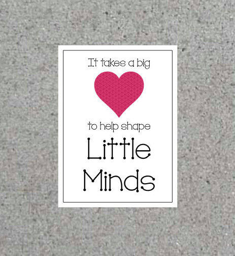 picture regarding It Takes a Big Heart to Shape Little Minds Printable called Massive It Requires A Huge Middle In direction of Aid Form Minimal Minds Appreciation Printable Tags Instructor 5\