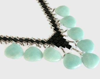 Art Deco Amazonite Necklace