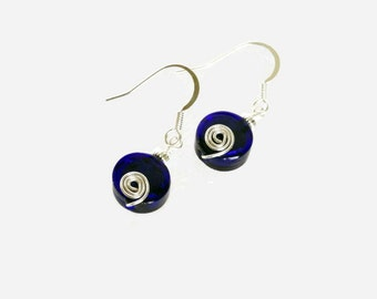 The Blues Earrings