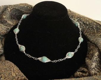 That's a Wrap Magnesite Necklace