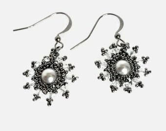 Starry Night Dangle Earrings