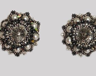 Little Black Dress Earrings