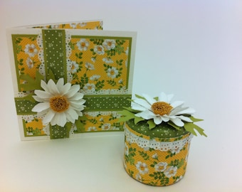 Learn to make a paper Daisy and 2 Pretty Daisy Projects