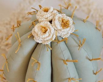 Cactus Pillow, Cactus Nursery, Boho Room Decor, Boho Nursery Decor, Southwest Nursery - MADE TO ORDER