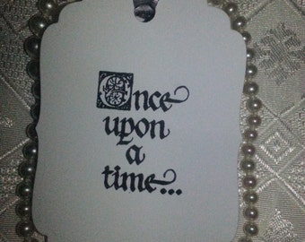 50  Wedding Wish Tree Tags Once Upon A Time