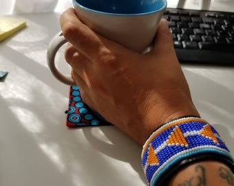 Handmade Kenyan Beaded Bracelet - Style 2