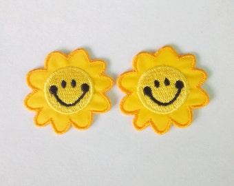 Glückliches Gesicht Sonnenblume Etsy
